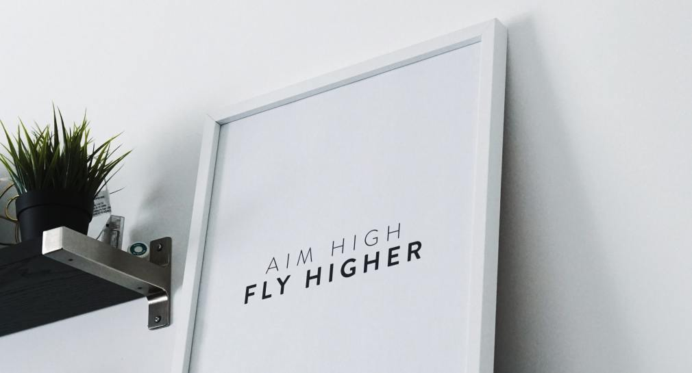 aim high fly higher